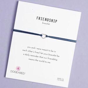 New in box Dogeared Friendship Heart Bracelet